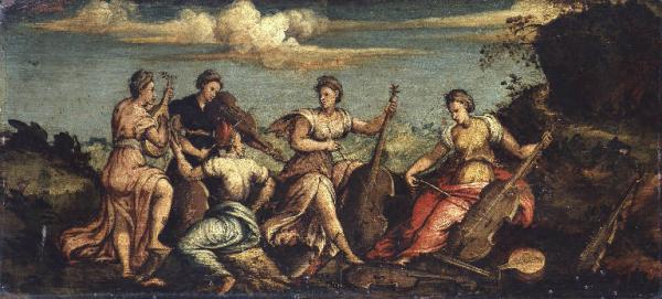 Concerto campestre, di ignoto mantovano, ca. 1550
