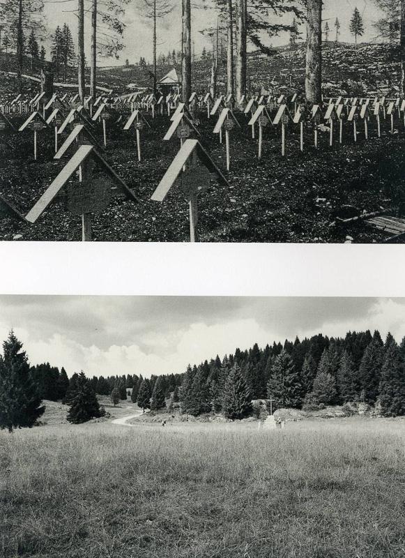Asiago, Campo Rosà, Cimitero di guerra