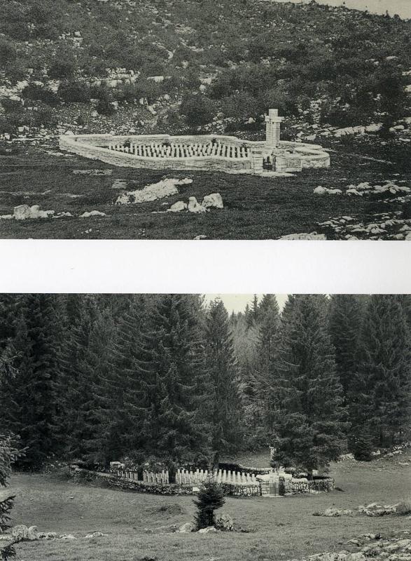 Asiago, Cavalletto, Cimitero di guerra