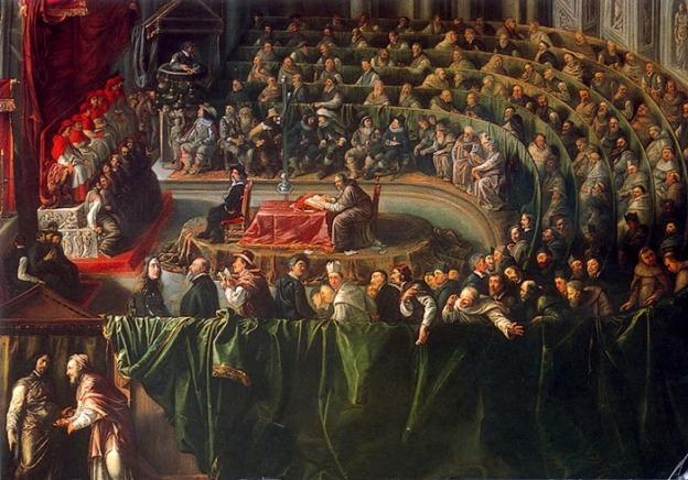 Galileo di fronte all'Inquisizione (anonimo del xvii secolo)