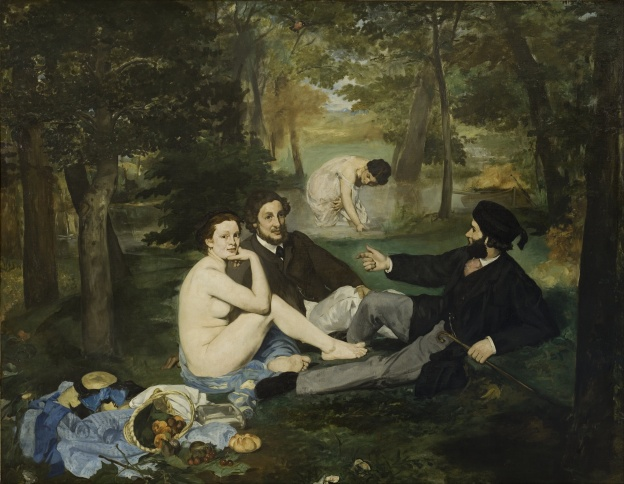 Edouard-Manet-Dejeuner-sur-l-herbe