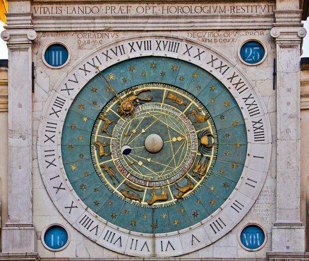 Padova, Orologio di piazza dei Signori, foto di Danilo Rizzetto