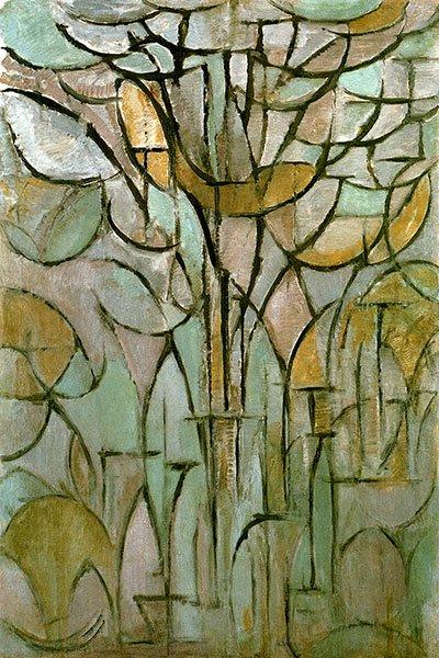 Piet Mondrian, Un albero