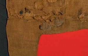 Alberto Burri, Sacco e rosso.