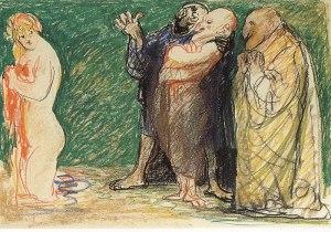 Salvatore Fiume, Susanna e i vecchioni